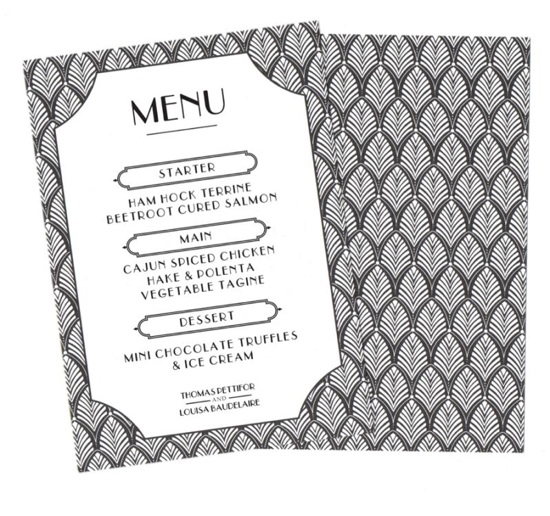 deco menu